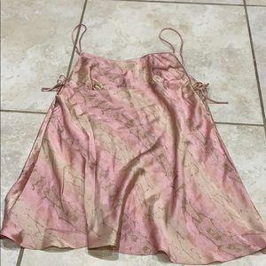 Victoria's Secret Silk Side Tie Slip Dress M